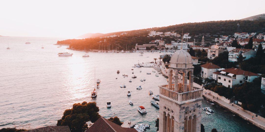 Flottielje zeilen Kroatië